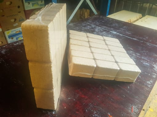 Brikety RUF - mix dřevin