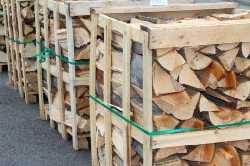 Palivové dřevo - směs, mix všech dřevin