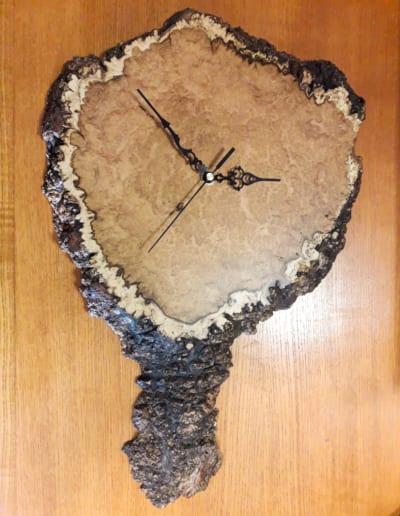 Akátové hodiny - 23 cm
