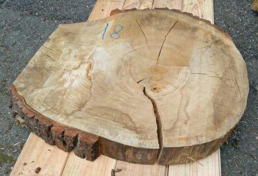 Kolečko - dubové, 58 cm