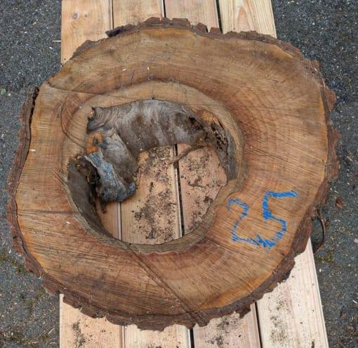 Kolečko - ořechové, 48 cm