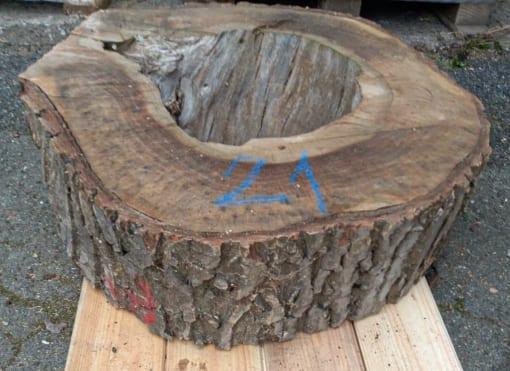 Kolečko - ořechové, 60 cm